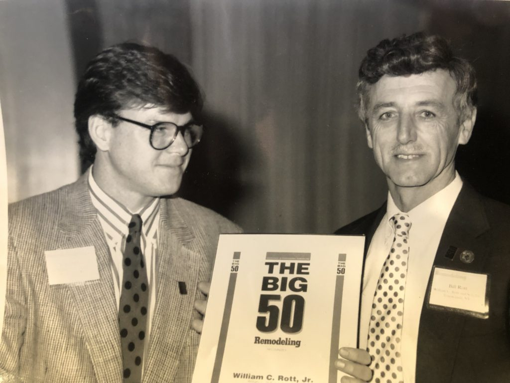 award from remodeling magazine - top 50 contractors