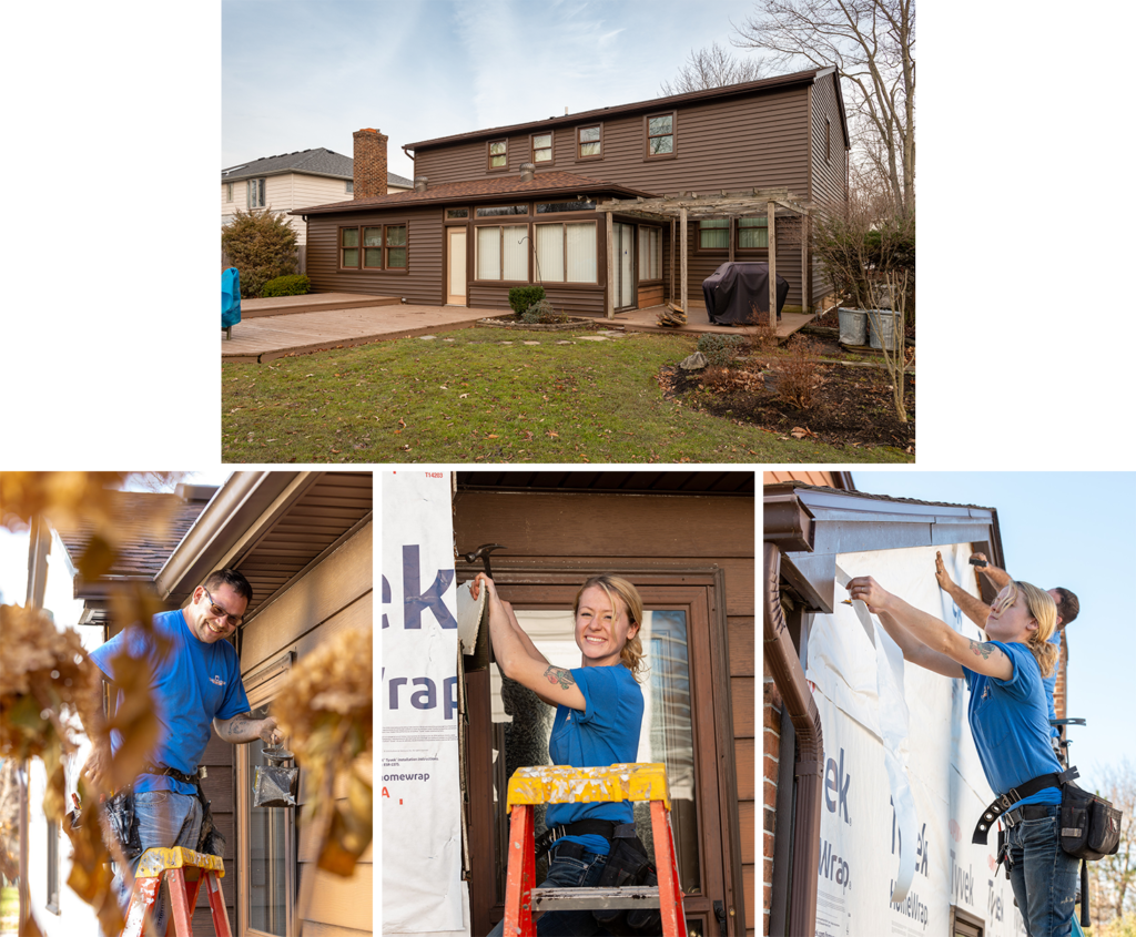 Home Renovation work-in-progress with William C. Rott and Sons team