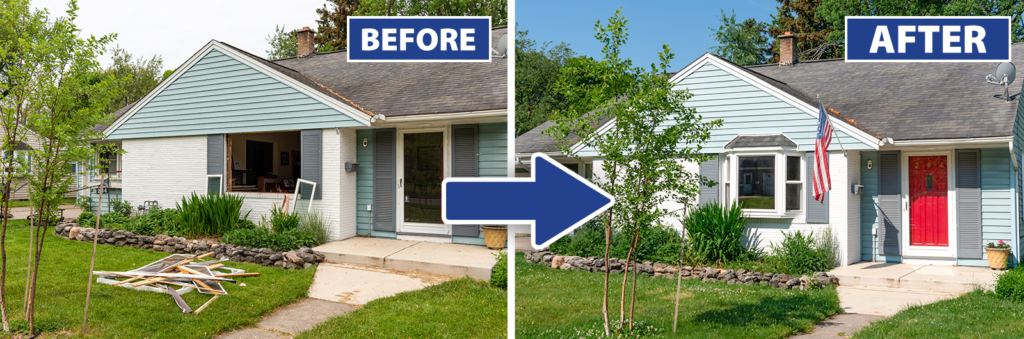 Home Renovation: Before and After